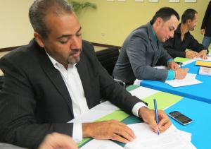 Servidores Públicos Unidos firma nuevo convenio colectivo en el DRNA