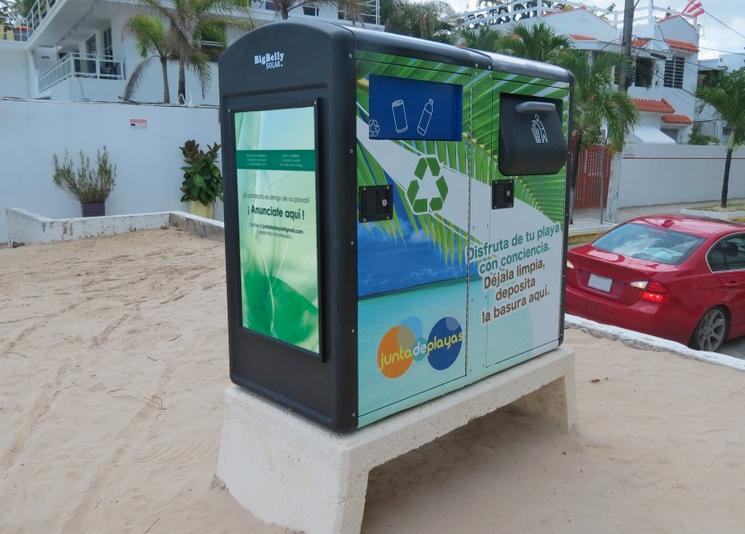 Ocean Park cuenta con contenedores de desperdicios inteligentes
