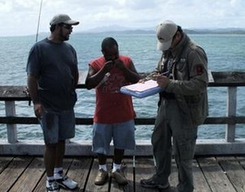 DRNA orienta a pescadores sobre importancia de estadísticas de capturas