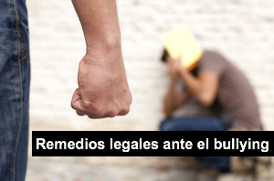 Remedios legales ante el bullying