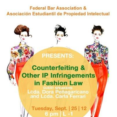 Conferencia: Counterfeiting and IP Infringements in Fashion Law en la Escuela de Derecho UPR