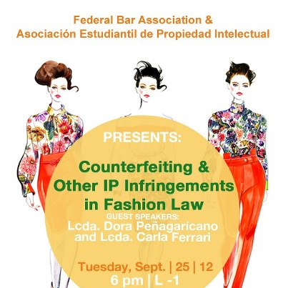 Conferencia: Counterfeiting and IP Infringements in Fashion Law en la Escuela de Derecho UPR