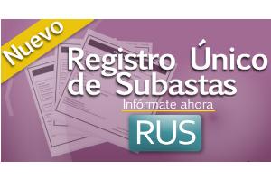 Registro Único de Subastas del Gobierno