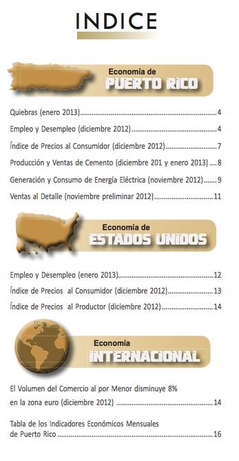 Descargar en PDF: Pulso Económico (Febrero 2013 - Volumen I - Número 1)
