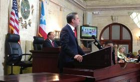 Gobernador Alejandro García Padilla ofreció primer mensaje de Estado de Situación y Presupuesto