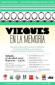 Simposio - Vieques en la memoria: diez años después
