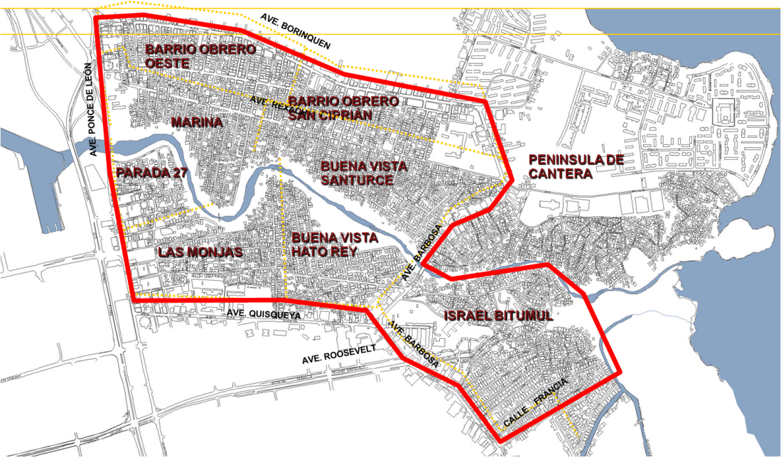Barrios y Avenidas CMP