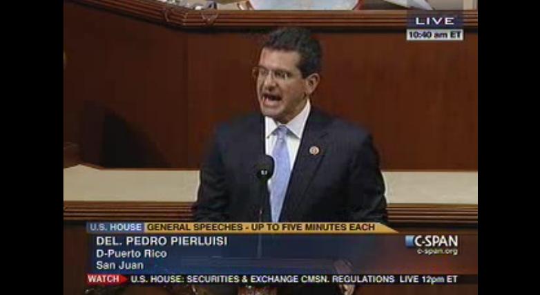 Pedro Pierluisi radica proyecto de ley de estatus de Puerto Rico ante Congreso