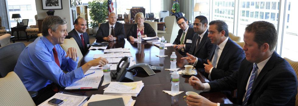 Gobernador se reúne con Secretario de Educación Federal