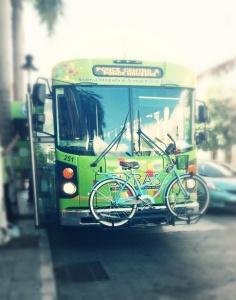 Guagua y bici