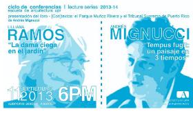 Presentación de libro: (con)textos: el Parque Luis Muñoz Rivera y el Tribunal Supremo