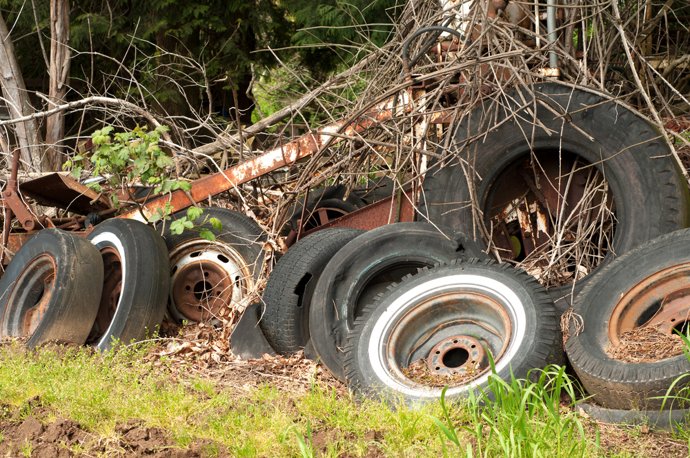 ADS solicita colaboración de la ciudadanía para reportar acumulación de neumáticos