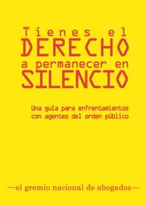 Publican guía para activistas