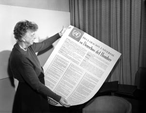 En la foto: Eleanor Roosevelt