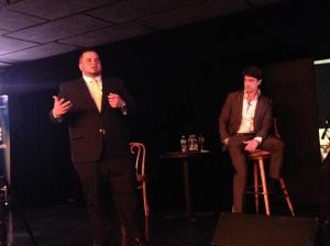 Estudiantes de Derecho dialogan con Carlos Díaz Olivo y Jay Fonseca sobre futuro de la profesión