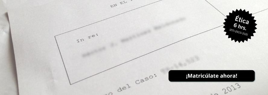 Evita el In re: análisis de actualidad sobre la ética notarial