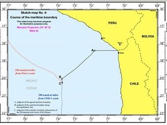 Corte de La Haya dio a conocer fallo sobre límite marítimo entre Chile y Perú