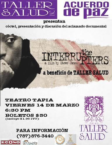 """Presentación y discusión sobre la violencia desde una perspectiva salubrista: """"The Interrupters"""""""