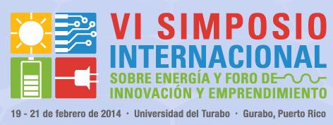 VI Simposio Internacional sobre Energía y Primer Foro de Innovación y Emprendimiento