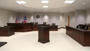 Sala del nuevo Centro Judicial de Caguas
