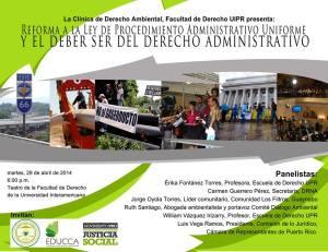 Conversatorio de reforma a la Ley de Procedimiento Administrativo Uniforme