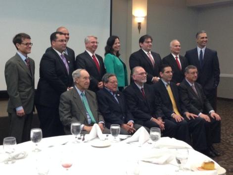 Juez federal Hon. Pedro Delgado-Hernández se dirige a la FBA