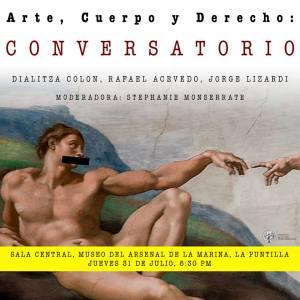 Conversatorio: Arte, Cuerpo y Derecho