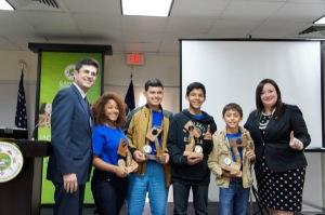 Jóvenes puertorriqueños culminan campamento empresarial