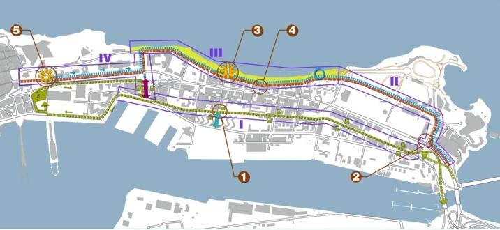 El «Paseo Puerta de Tierra» integrará Condado, Miramar y el Viejo San Juan
