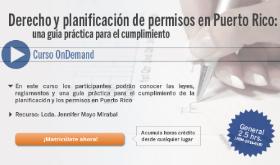 Derecho y planificación de permisos en Puerto Rico
