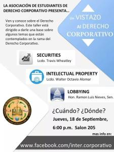 Un vistazo al derecho corporativo