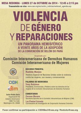 Violencia de Género y Reparaciones