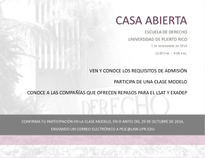 Derecho UPR celebra su Casa Abierta