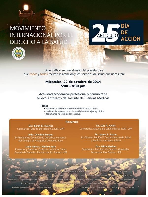 Día de Acción Global por el Derecho a la Salud