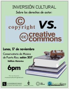 Sobre los derechos de autor: Copyright vs. Creative Commons