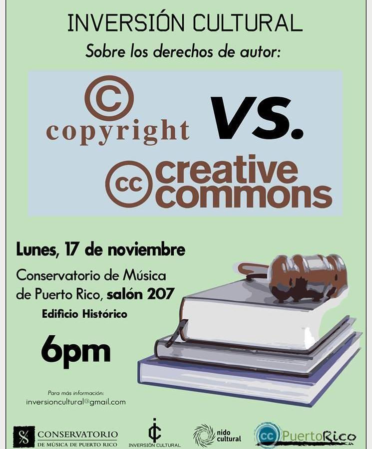 Sobre los derechos de autor: Copyright vs. Creative Commons