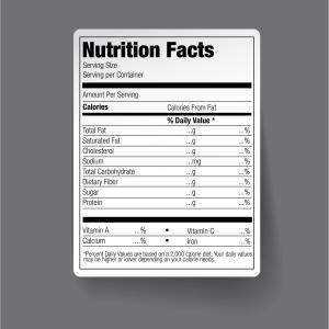 FDA ordena detallar calorías