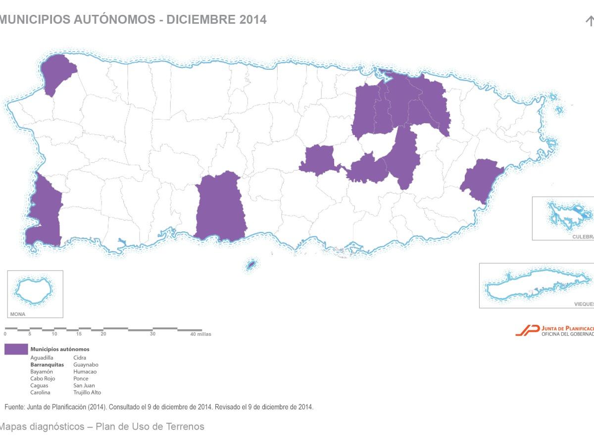 Municipios autónomos de Puerto Rico