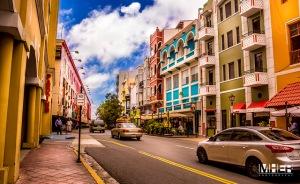 Paseo Portuario, calle Recinto Sur, Viejo San Juan