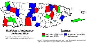 Municipios Autnomos de Puerto Rico