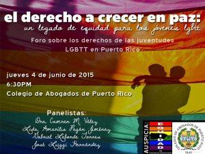 Foro Equidad Jovenes LGBTT