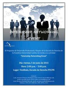 «Internship Networking Event» en la Escuela de Derecho de la Católica