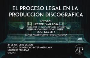 El proceso legal en la producción discográfica