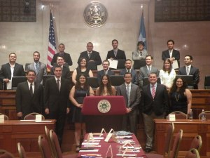 Ceremonia de investidura del cuerpo editorial del UPR Business Law Journal