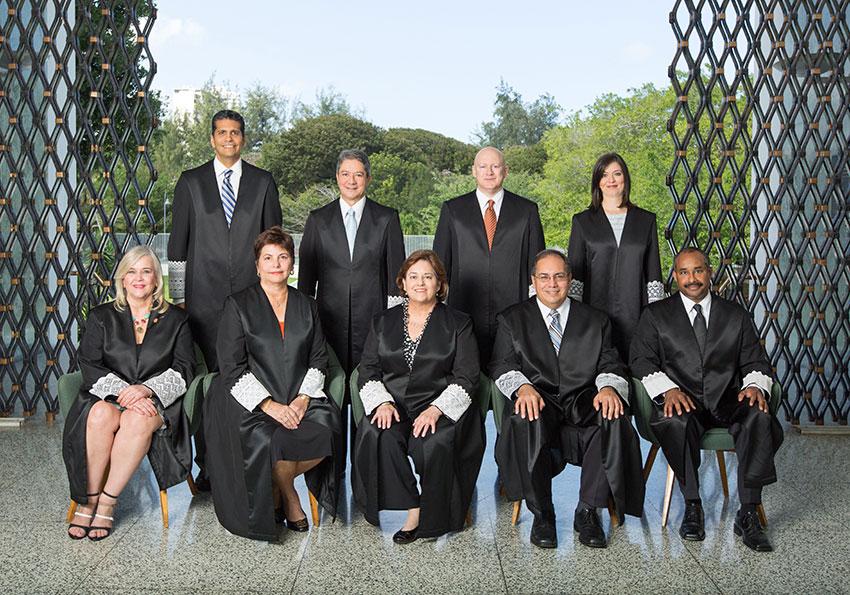 Tribunal Supremo de Puerto Rico 2015 jueces
