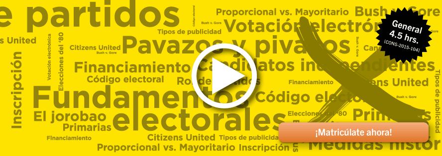 La democracia en Puerto Rico: una introducción al marco jurídico de nuestro proceso electoral
