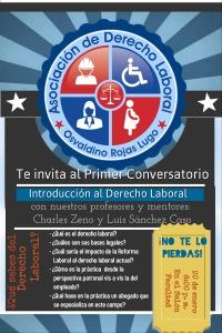 Primer conversatorio de introducción al derecho laboral