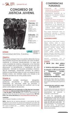 Sociedad para Asistencia Legal presentará Congreso de Justicia Juvenil