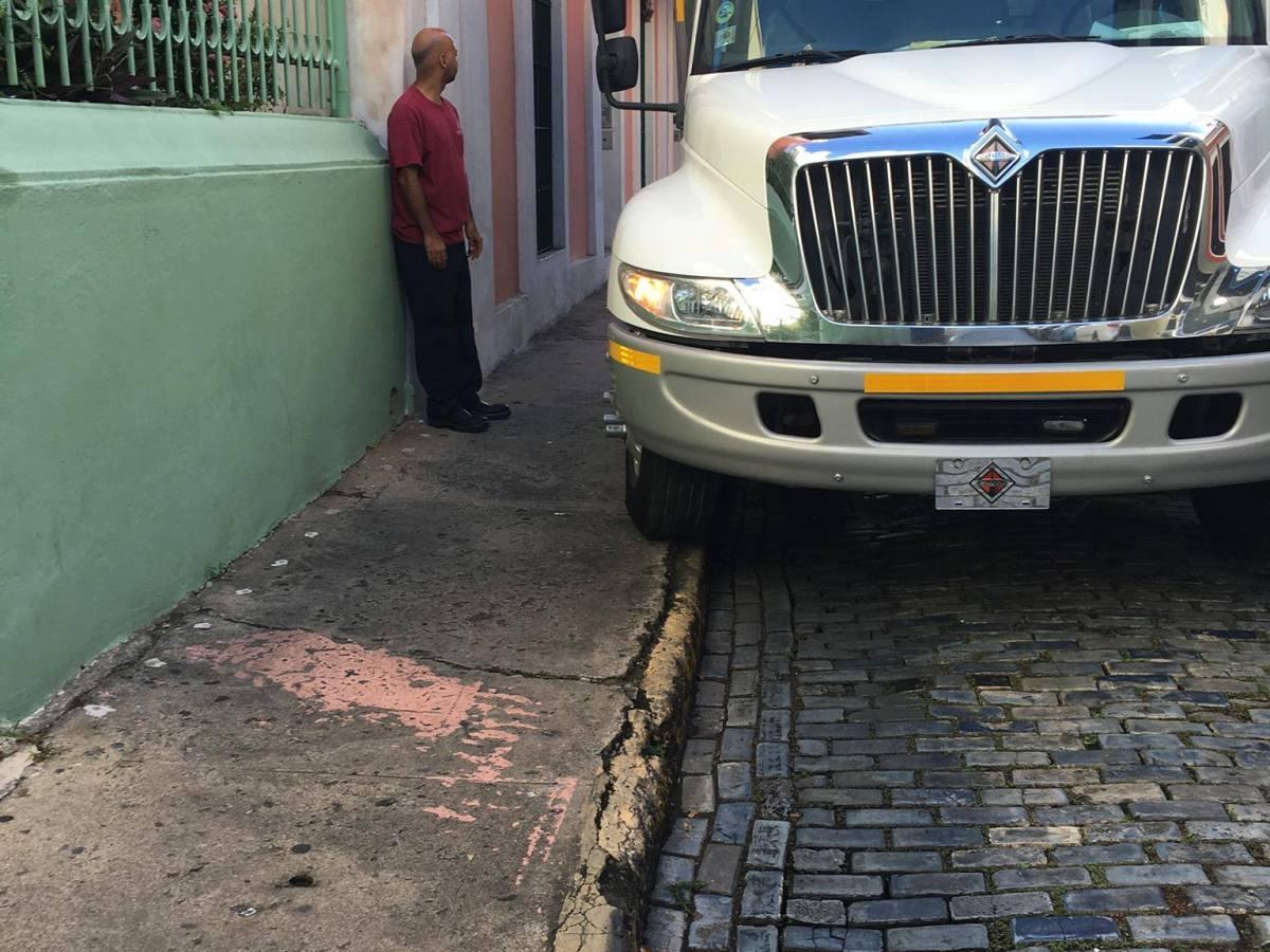 Legislatura de San Juan verá proyecto para prohibir acceso de camiones al Viejo San Juan