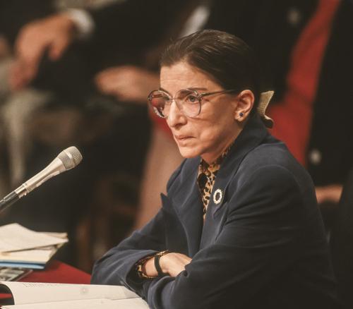 Juez Ruth Bader Ginsburg